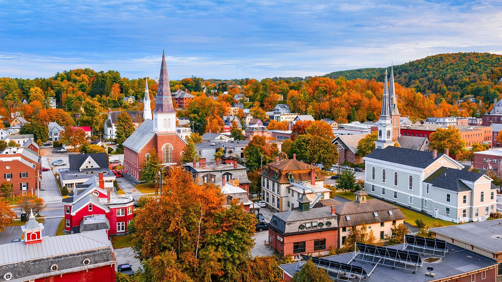 Monticello, Vermont cityscape